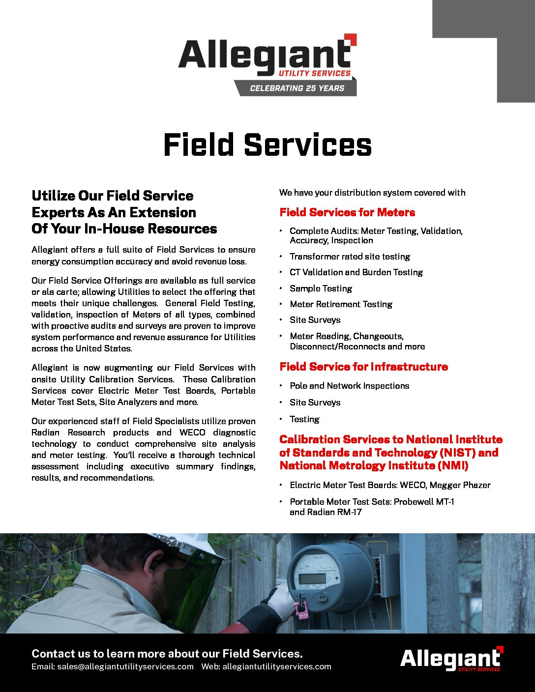 Field Services Information